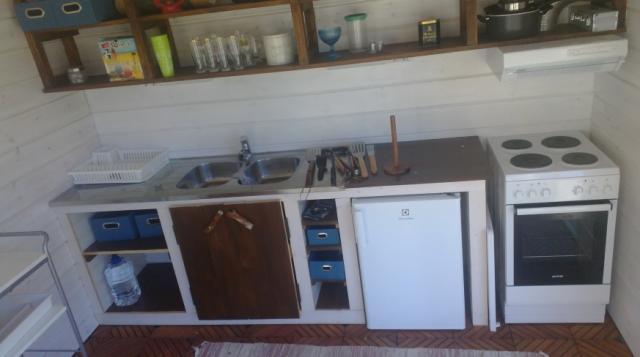 Kesäkeittiön rakentaminen  Building a Summer Kitchen  KEKSIN FI